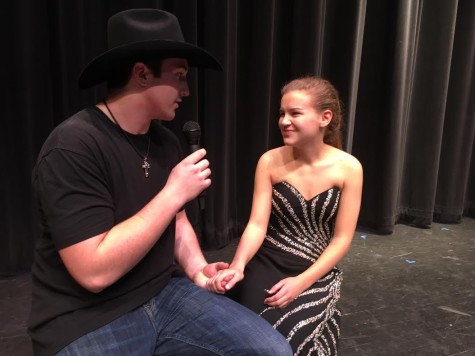 Knotts seals a prom date at Mr. Linganore 2016
