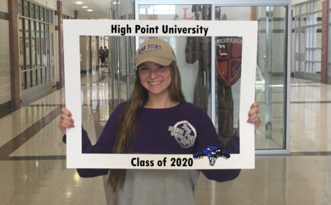 LHSsees2020: Brianna Fay reaches the 'High Point' of her education