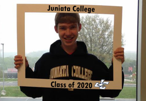 LHSsees2020: Brian Peterson hopes to help save the country at Juniata College