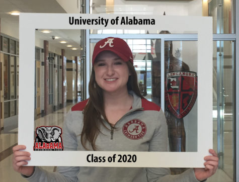 LHSsees2020: Elena Guardia is 'Bama bound