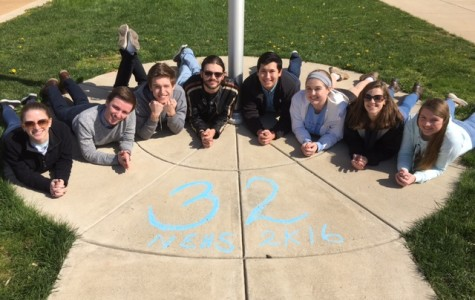 Class of 2016: Poetry on the sidewalk NEHS seniors mark 32 days in chalk