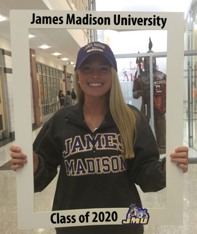 LHSsees2020: Katie Lamb draws up her JMU plans
