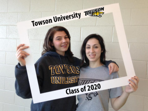 LHSsees2020: Lauren Thompson and Gina DeFrancisci room in the belly of the tiger