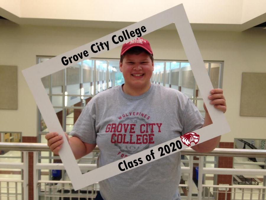 Senior Matt DeMember waits will anticipation for the start of college.