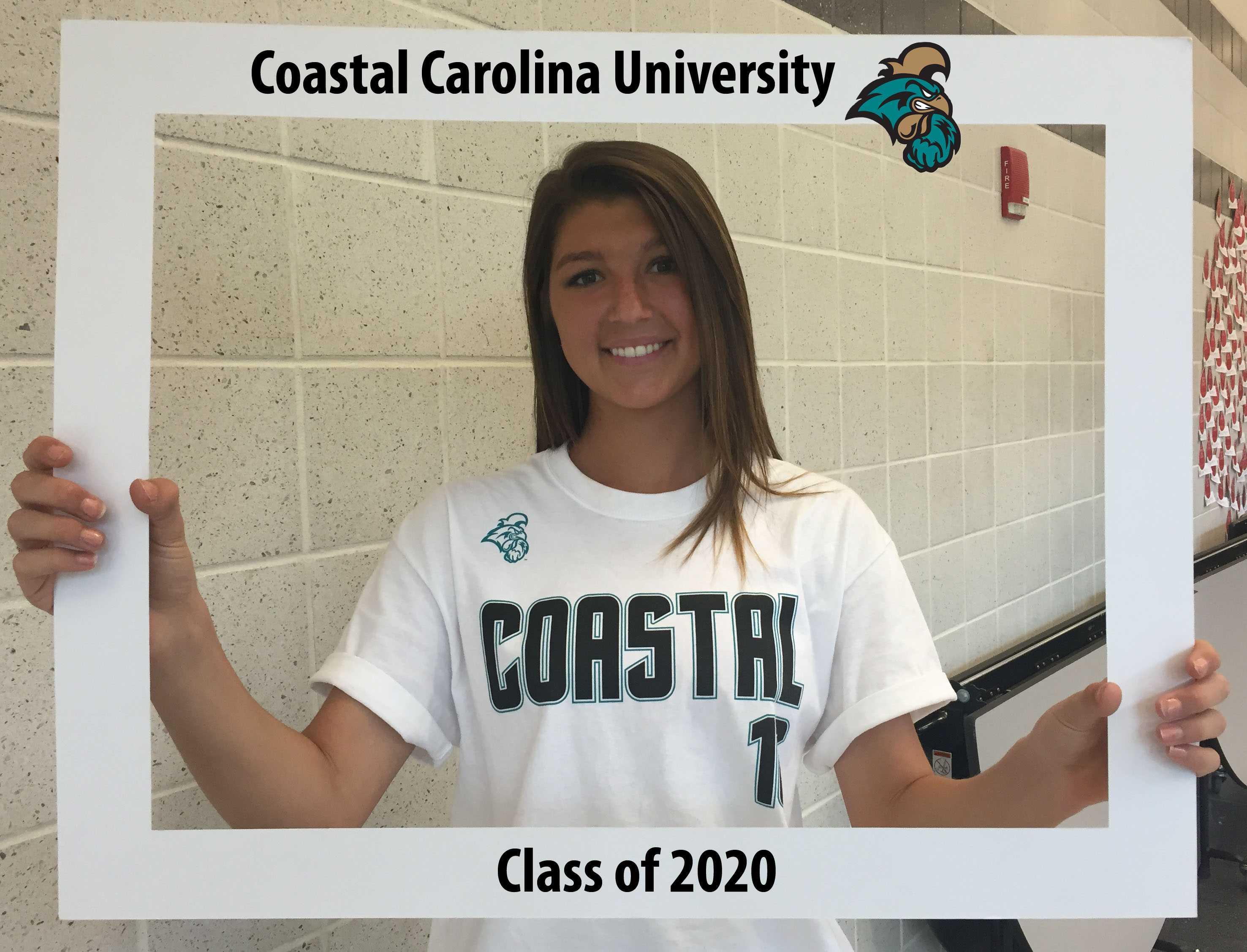 Montanna Hill kicks her way down to Coastal Carolina University.