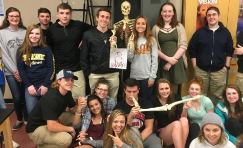 Class of 2020: Forensic Science Class gets a bloody reminder that there are only 6 days left
