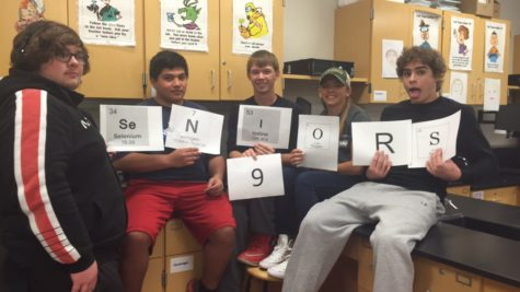 Class of 2016: Fundamentals of Chemistry periodically counts down to 9 days