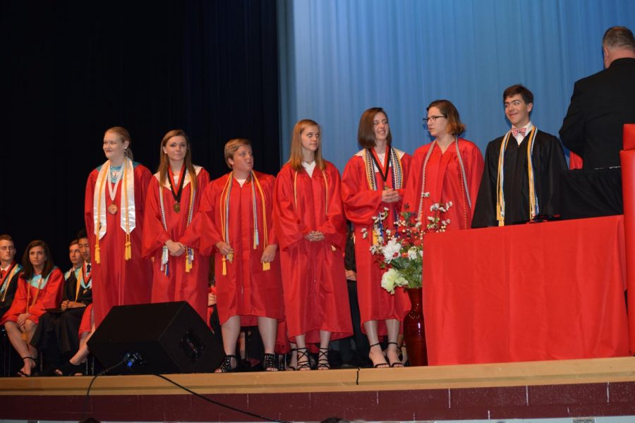 Students are recognized for their achievements
