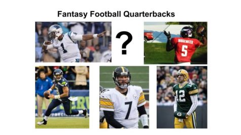 Jason Byrd chooses his fantasy football quarterbacks