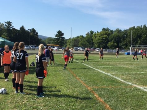 Varsity girls soccer team kicks off their season with scrimmages: Photo of the Day 9/29/2016