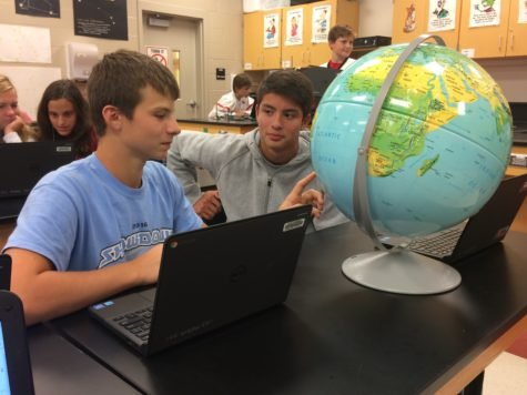 Class of 2020 experiments with new Physics of Earth and Space class