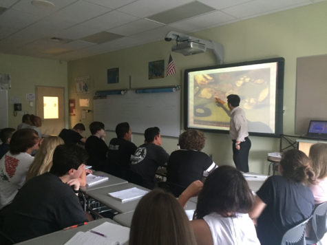Jensen explores The Renaissance with his third period class.