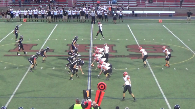 Lancers defense prevails against the Middletown Knights.