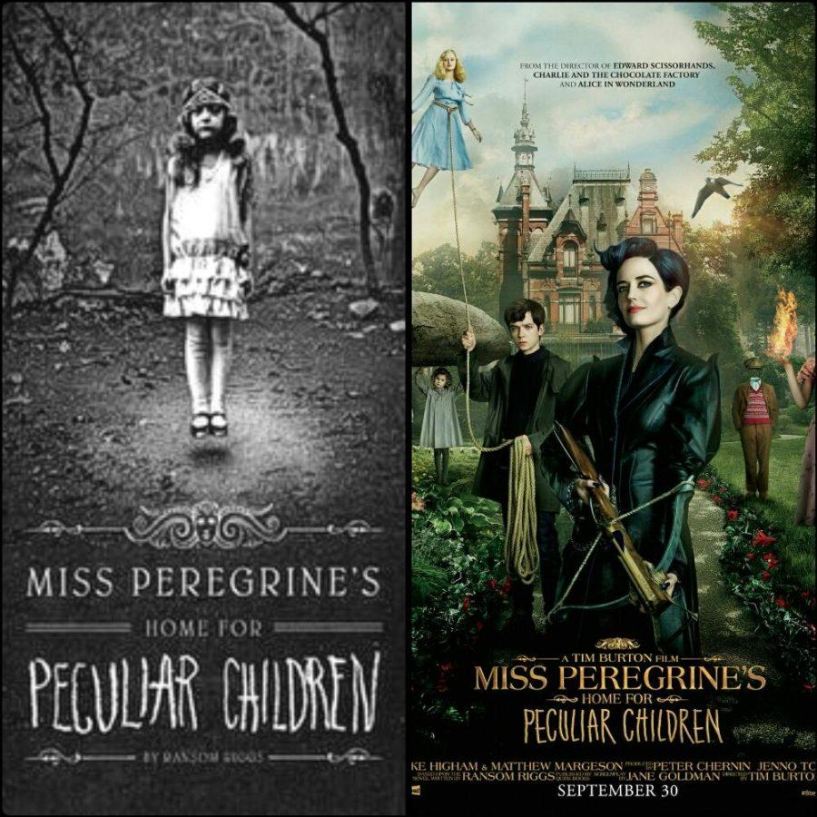 A comparison of Miss Peregrine's Home for Peculiar Children, book v. movie.