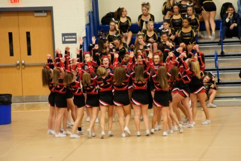 Varsity cheerleaders win second at states: Photo of the Day 11/11/16