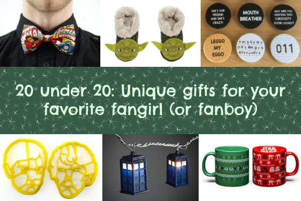 20 under 20: Unique gifts for your favorite fangirl (or fanboy)