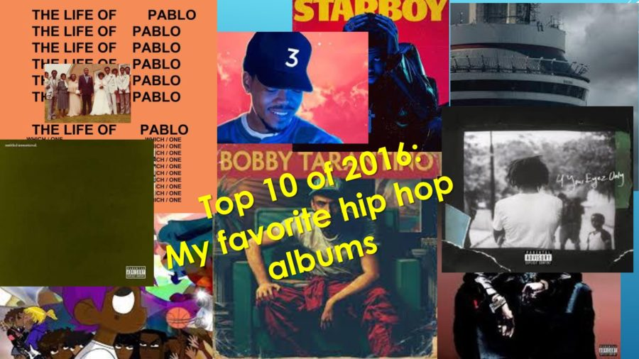 Top 10 of 2016: My favorite hip hop albums