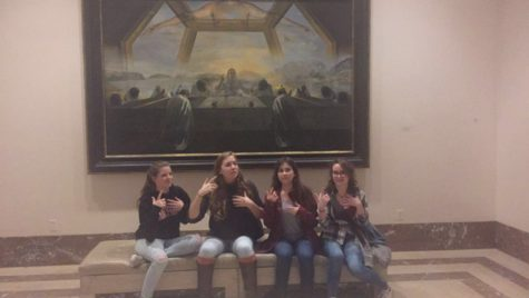 NAHS students attend the National Gallery of Art: Photo of the Day 12/2/16