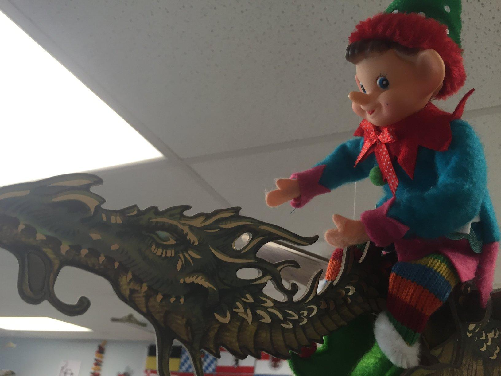 Where's elfie hiding today?