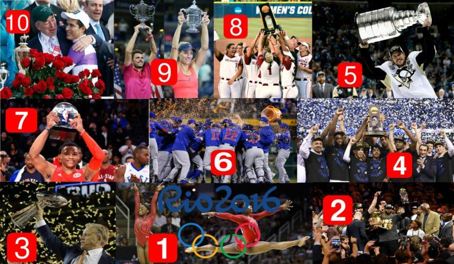Top 10 of 2016: Major sports events to remember
