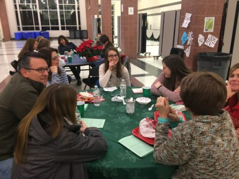 NEHS hosts potluck and book discussion: Photo of the Day 12/15/16