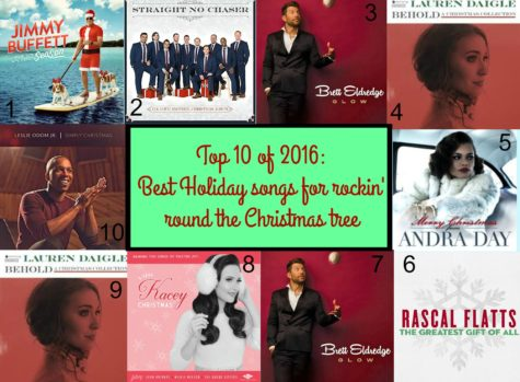 Top 10 of 2016: Best holiday songs for rockin' around the Christmas tree