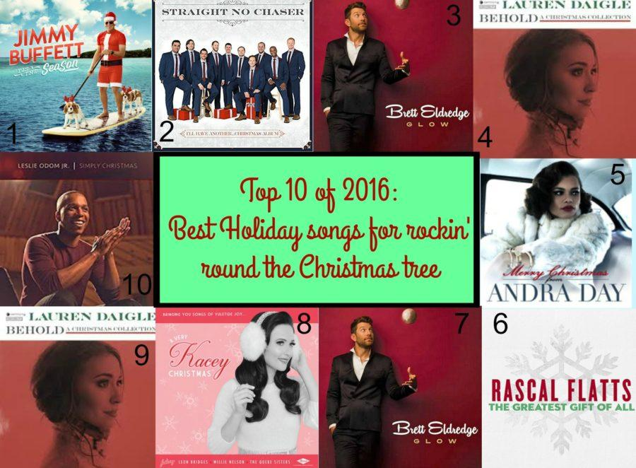 top 10 of 2016 best holiday songs for rockin around the christmas tree