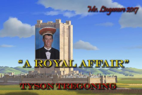 Tyson Tregoning is ready to take over the Mr. Linganore kingdom