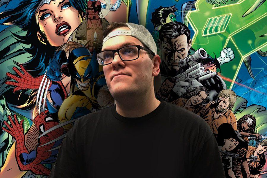 #5 Justice League of Avengers: Comic books as a career - Charlie Ridgely interview