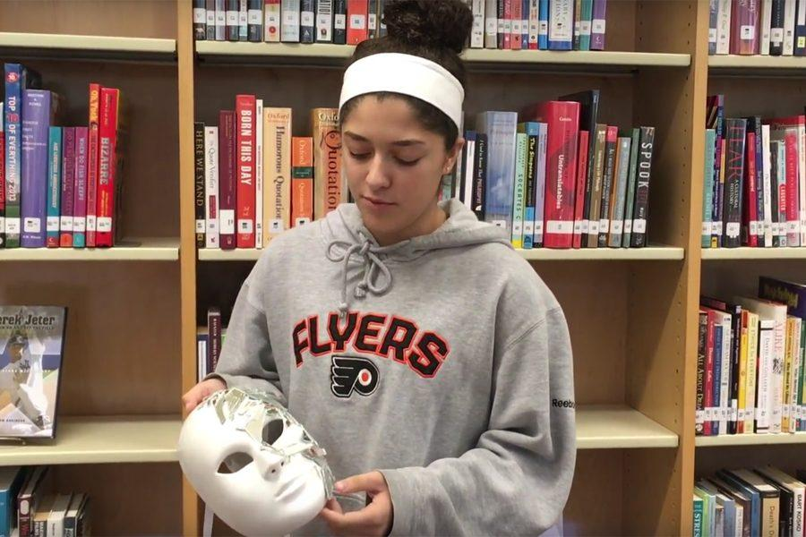 Maya Hannon describes a mask she made for the 9/11 mask project.