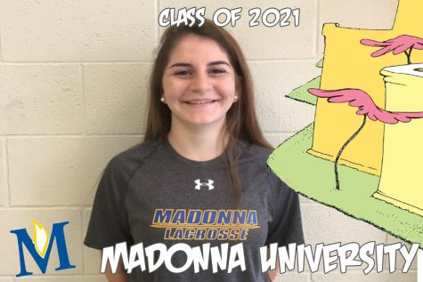 Oh, the places you'll go: Emily Daly fights for the crusaders at Madonna University