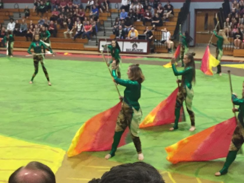 Dougherty+performs+in+the+2017+Linganore+Winterguard+program.