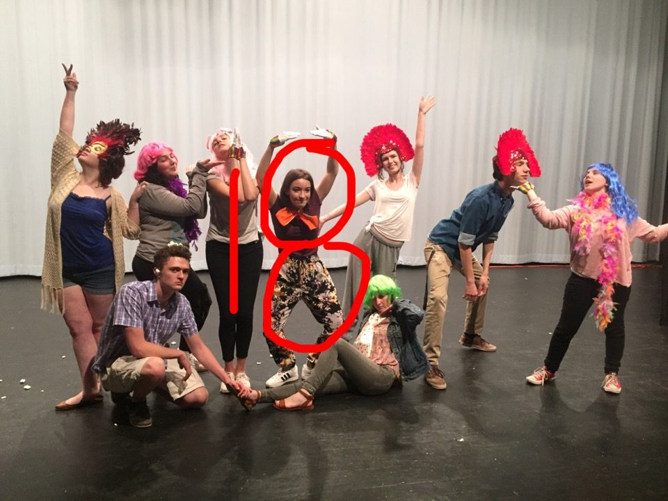 Drama department seniors spend their last time on stage.