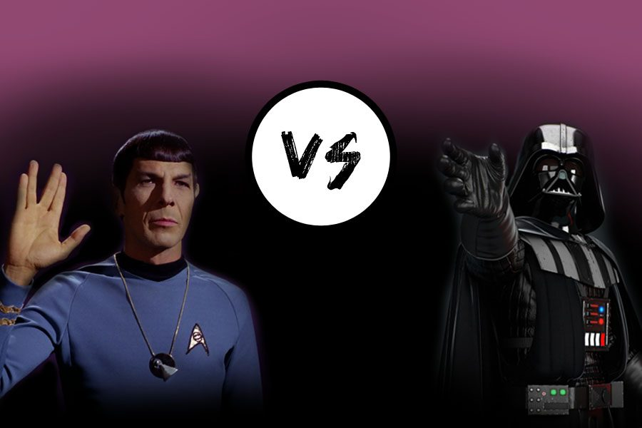 Podcast:  Battle of the Fans--Which rules the galaxy?  Star Wars or Star Trek