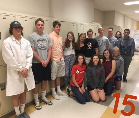 Class of 2017: Ms. Baker's class is PREPping for graduation with 15 days left