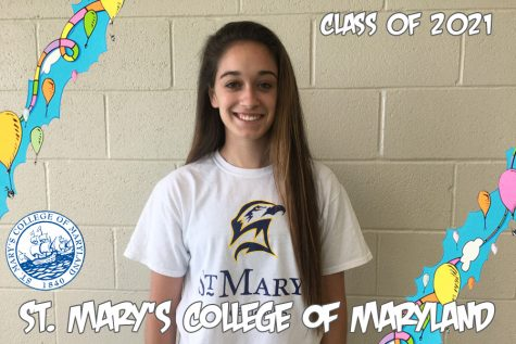 Ashleigh Bonanno continues her education at St. Mary's College of Maryland.
