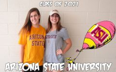 Oh, the places you'll go: Domroe and Eisenhauer will be soaking up the sun at Arizona State University