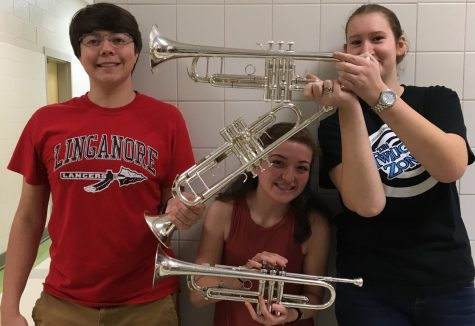 Class of 2017: Senior trumpets play their way through the last two days