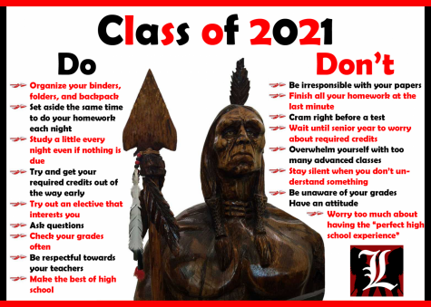 Welcome Class of 2021: Dos and Don'ts