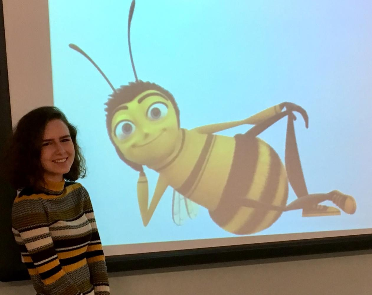 Emma Wynkoop proposes effective ways to save the bees