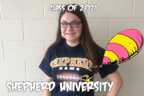 Oh, the places you'll go: Alyssa Lewis prints her path to Shepherd University