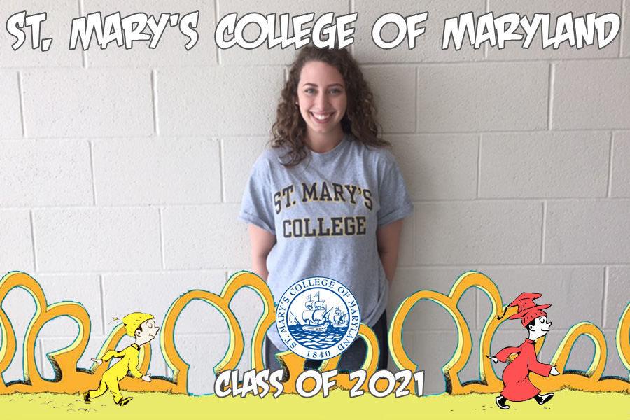 Oh, the places you'll go: Alexa Needle flies with the seahawks at St. Mary's College of Maryland