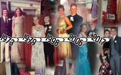 While the dresses change with the decades, prom never goes out of style