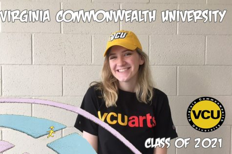 Tory Spruill will be going to Virginia Commonwealth University next year to continue her education.