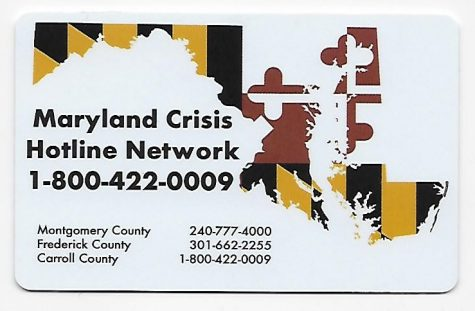 Suicide hotline on back of student ID cards raises awareness