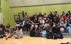 Students eagerly await The Giver's first meeting of the year: Photo of the Day 9/23/17