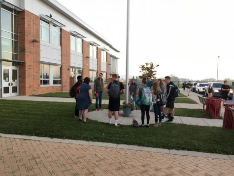 "FCA participates in the ""See You At The Pole"" event: Photo of the Day 9/27/17"