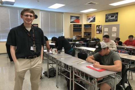 Urbana graduate, Halter joins math department–changes to red and black