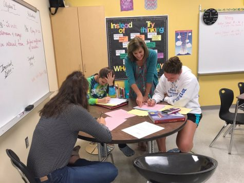 "Get to know new teacher Pam Flickinger: ""I want students to feel welcome"""