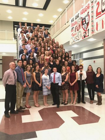 National Honor Society welcomes 58 new members
